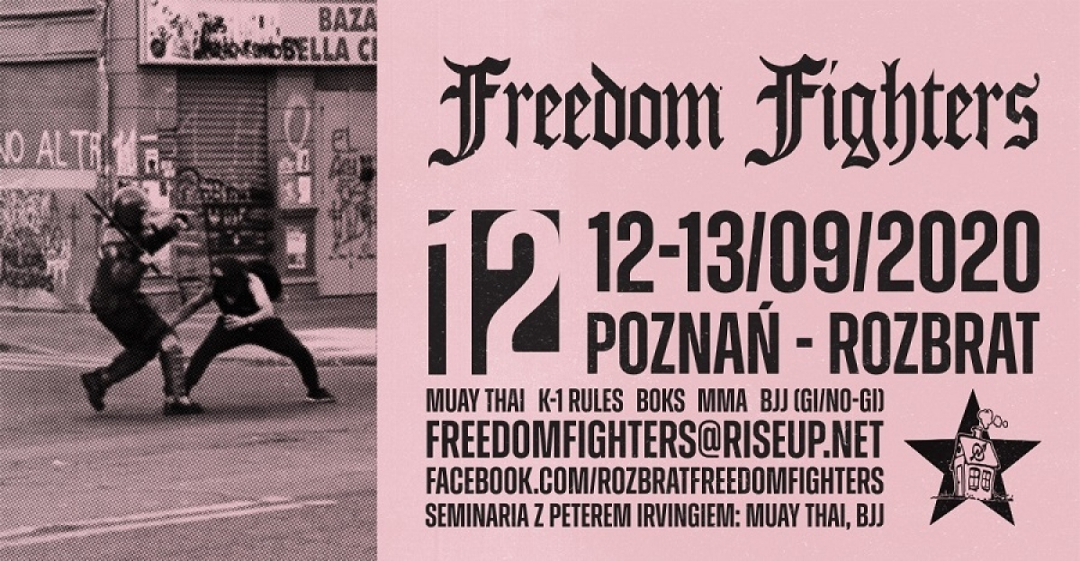 Freedom Fighters #12 - relacja