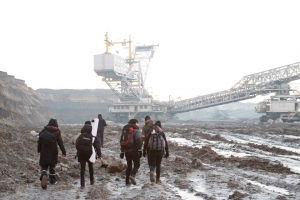 Poland: feminists occupy Tomosławice Coal Mine
