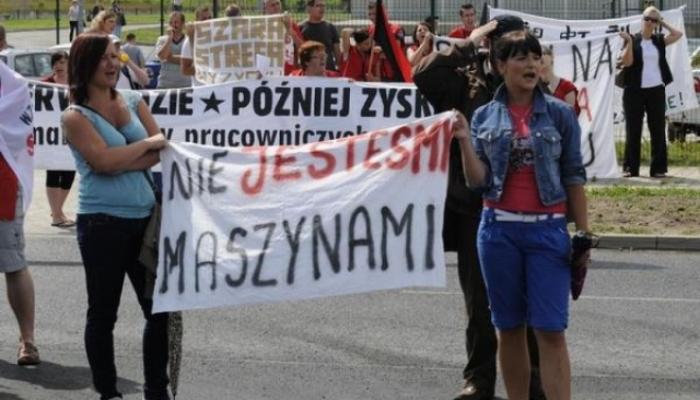 Rząd chce zmienić Polskę w obóz pracy